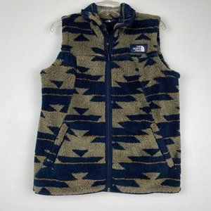 North Face Fleece Campshire Peyote Pattern Vest